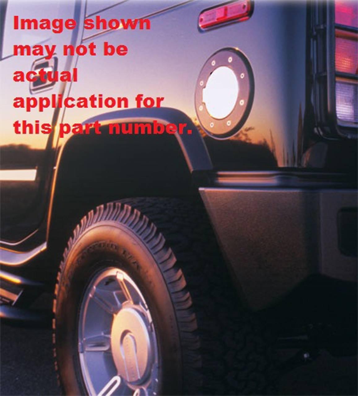 Inc 6102P Billet Fuel Door AllSales Mfg