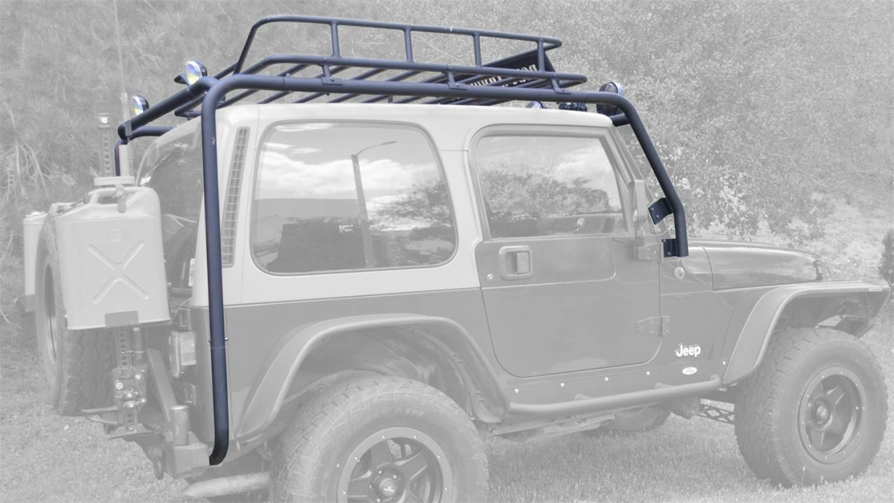 Roof Rack Tj 6125 Body Armor The Trux Superstore Houston Tx