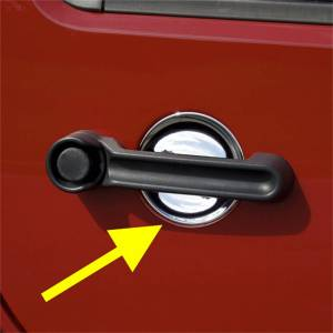 Interior Accessories - Doors and Components - Door Handle Scuff Plate