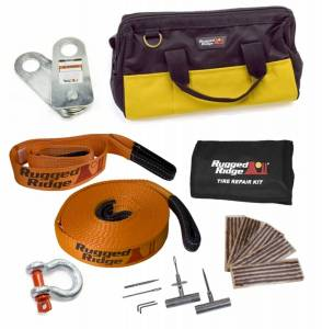 Exterior Accessories - Winches and Accessories - Recovery Kit