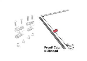Exterior Accessories - Tonneau Cover - Tonneau Cover Pull Strap