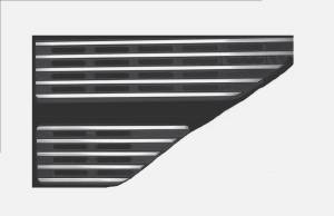 Exterior Accessories - Body Styling - Side Vent Trim